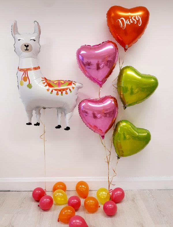 llama balloon package
