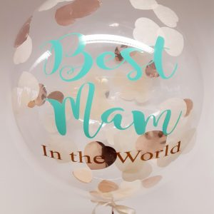 mothers day confetti bubble balloon