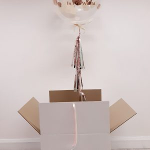mothers day confetti bubble balloon gift boxed