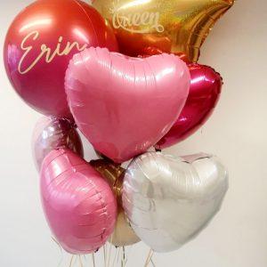 birthday queen balloon bunch